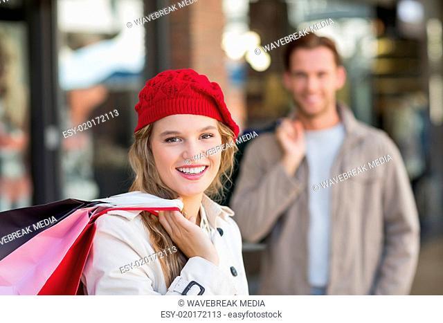 70c3c468b1767 Blond woman beret Stock Photos and Images