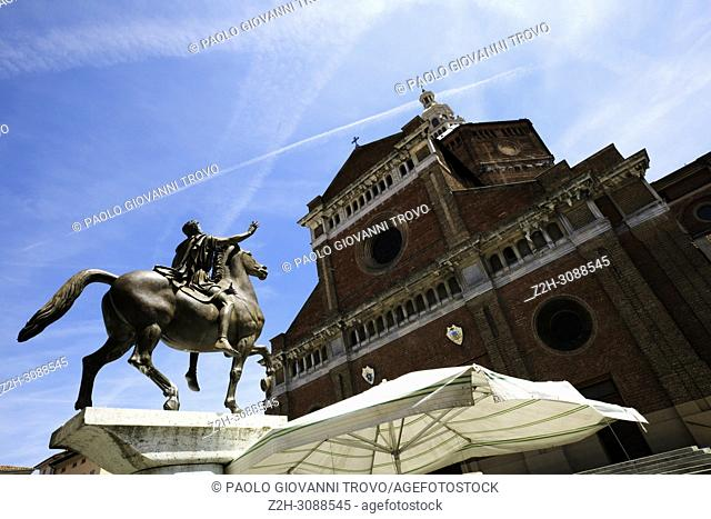 The Cathedral of Pavia, Pavia, Lombardy, Italy