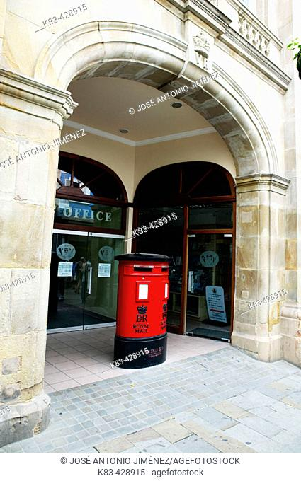 Post office in Gibraltar. UK