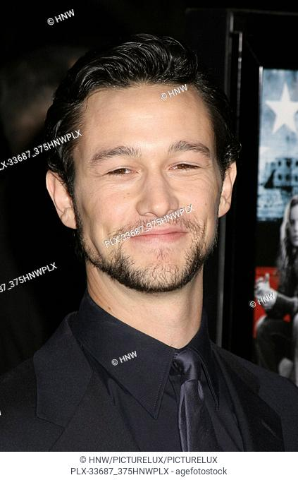 "Joseph Gordon-Levitt 03/17/08 """"Stop-Loss"""" Premiere @ Directors Guild of America, Los Angeles Photo by Megumi Torii/HNW / PictureLux (March 17"