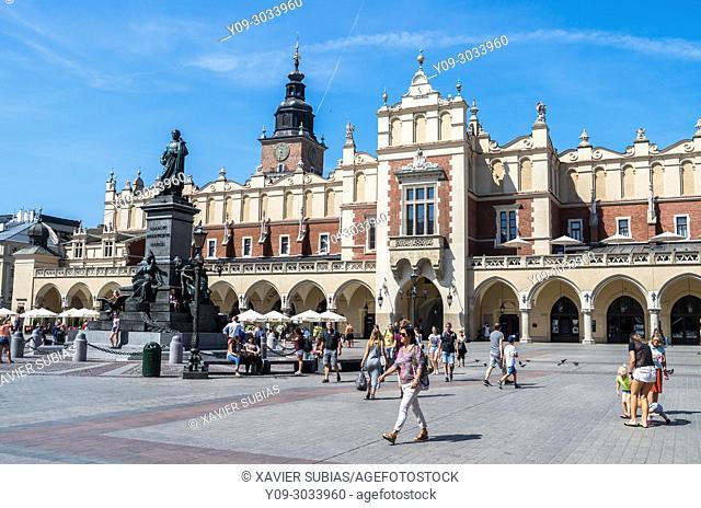 Main Market Square, Krakow, Poland