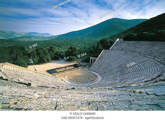 Theatre of Epidaurus (Unesco World Heritage List, 1988), Greece. Greek civilisation, 360 BC