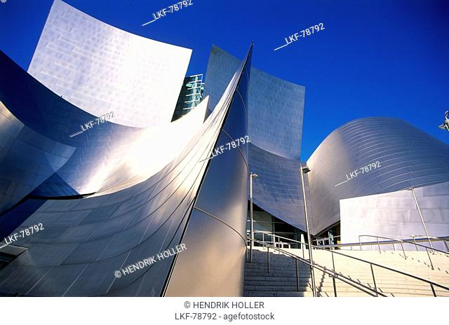 Walt Disney Concert Hall, Downtown Los Angeles, L.A., California, USA