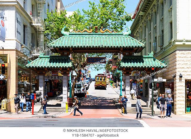 Ceremonial Gate Chinatown, San Francisco