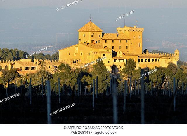The Riudabella Castle. Tarragona (Catalonia), Spain