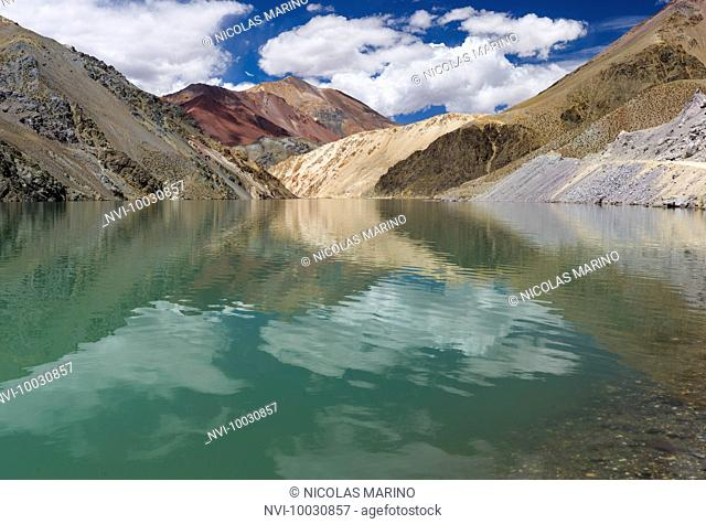 Agua Negra pass, Andes, Chile Argentina