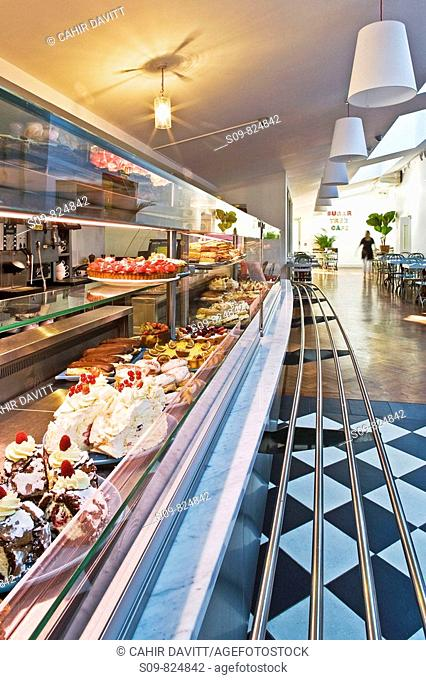 The tourist attraction Avoca Handweavers shop, restaurant and cafe in Kilmacanogue, Wicklow, Ireland