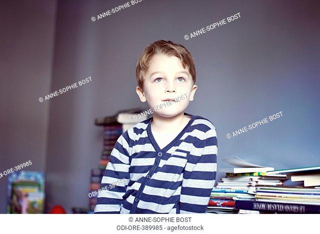 Little boy dream