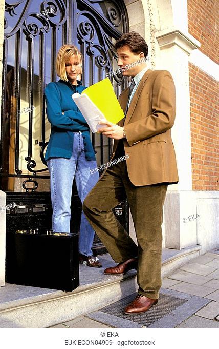 Door-to-door selling