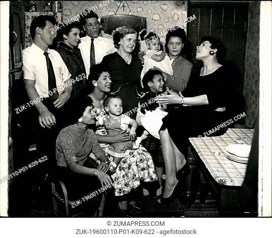 Mar. 02, 2012 - SHIRLEY, THE BLUES SINGER, ENTERTAINS HER FAMILY. When she wait home to Cardiff's singer Bay for a weekend