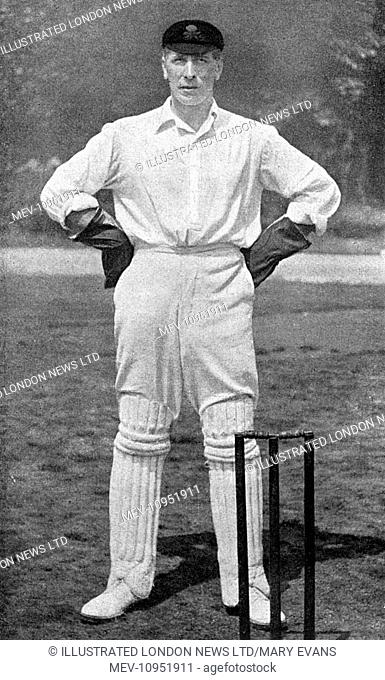 Major H. G. Garnett (1879-1917), Croix de Guerre, South Wales Borderers, (Clifton, Lancashire and Gentlemen), the well-known wicket-keeper and left-handed...