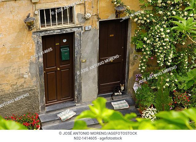 Ventimiglia, Old town, Liguria, Italian Riviera, Imperia Province, Italy