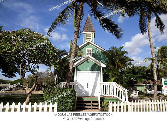 Keolahau Congregational Church, 1920, Kihei, Maui, Hawaii, USA