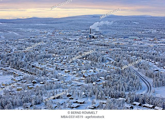 Sweden, Swedish Lapland, Gällivare, winter, winter scenery