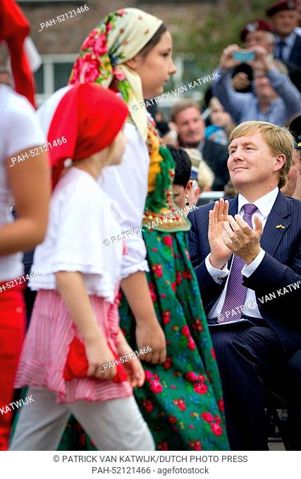 King Willem-Alexander of The Netherlands attends the 70th commemoration of operation Market Garden, the start of liberation in The Netherlands in september 1944