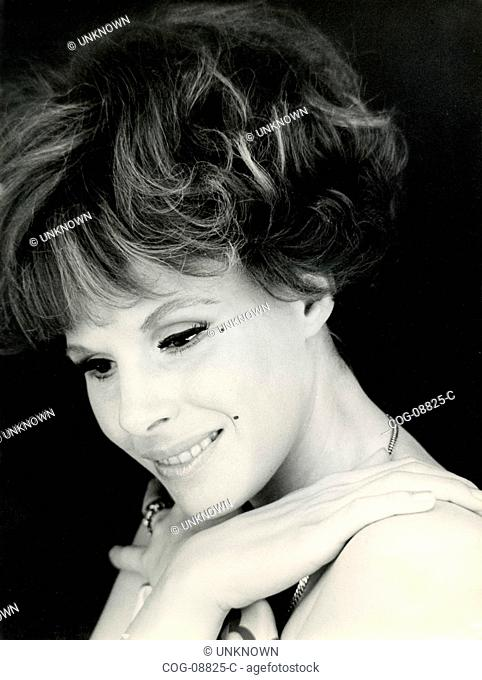 The Italian singer Ornella Vanoni