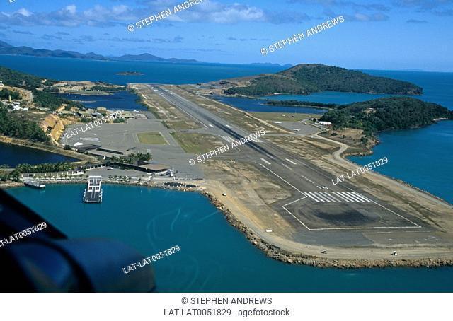 Great Barrier Reef Airport,formerly Hamilton Island Airport,is the primary airport of the Whitsunday Islands and airport of Hamilton Island