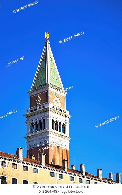 St. Mark's Campanile (belltower), Venice, Italy