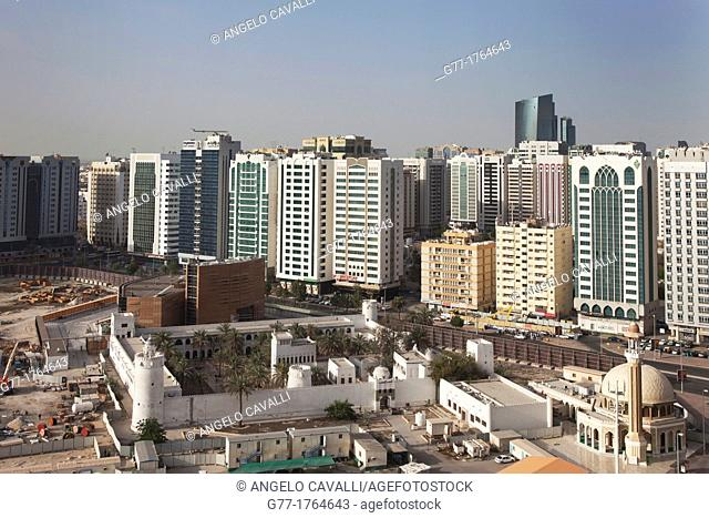 United Arab Emirates Abu Dhabi. The first Fortress of Abu Dhabi Emire