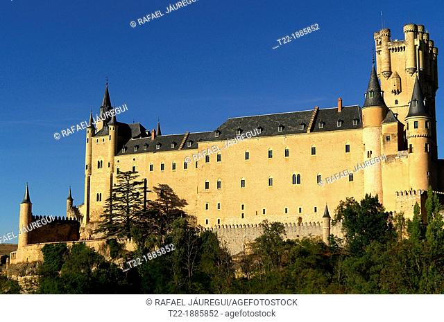 Segovia Spain  Overview of the Alcazar of Segovia