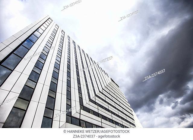 Novotel, skyscraper of La Défense, Europe's largest purpose-built business district, Paris, France
