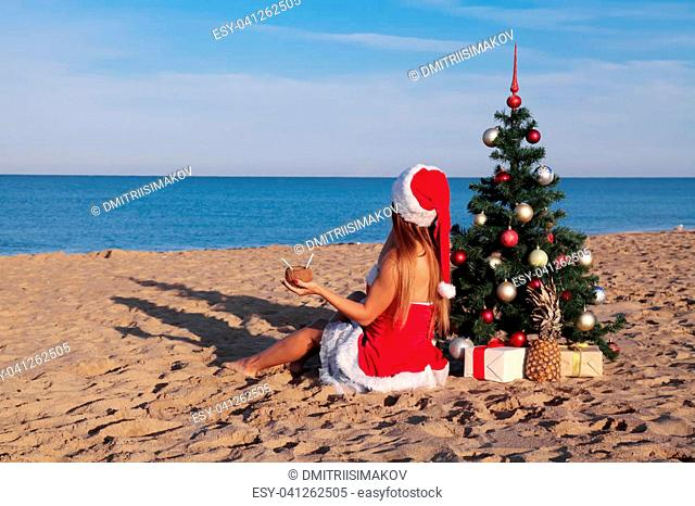 3abbb12e99 Bikini santa hat Stock Photos and Images | age fotostock