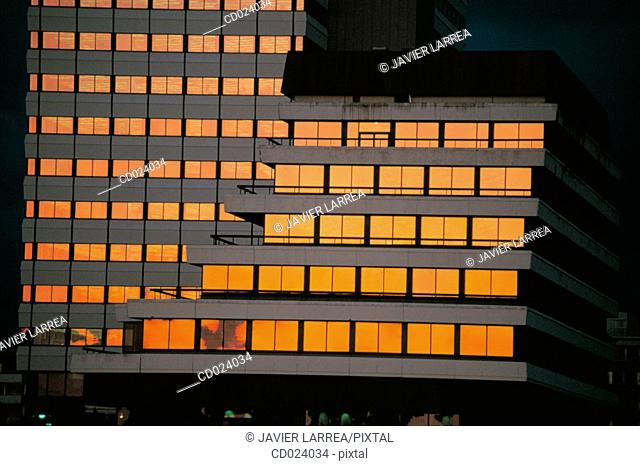 Lufthansa Building. Cologne. Germany