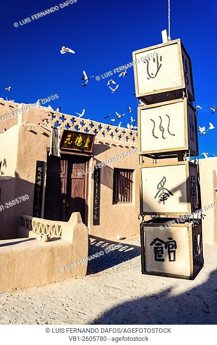 Dunhuang Old City film set, Gansu, China