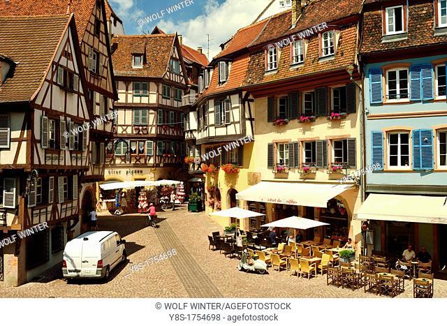 Colmar, Alsace, France, old town