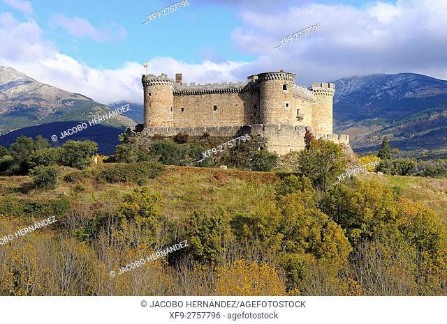 Castle of Mombeltrán. Ávila province. Castilla y León. Spain