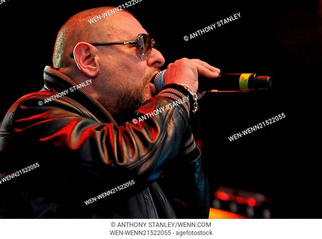 Godiva Festival 2014 - Day 2 Featuring: Happy Mondays,Shaun Ryder Where: Coventry, United Kingdom When: 05 Jul 2014 Credit: Anthony Stanley/WENN.com
