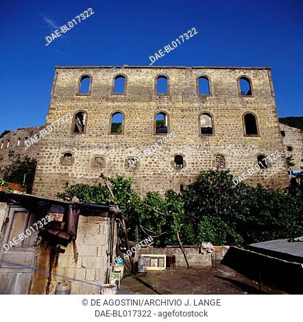 Remains of Kizlar Monastery, 14th century, Trabzon, Black Sea region, Turkey