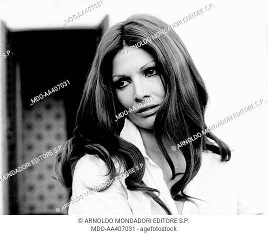 Portrait of Scilla Gabel . Portrait of Italian actress Scilla Gabel (Gianfranca Gabellini). Rome, May 1968