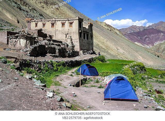 Yurutse homestay. Trekking in Markha valley (Laddakh, India)