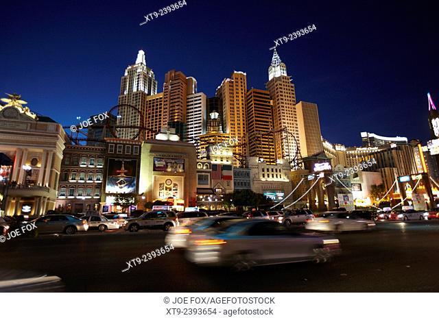 new york new york resort hotel and casino Las Vegas Nevada USA