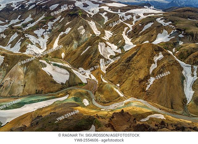 Landmannalaugar, Central Highlands, Iceland