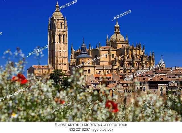 Cathedral, Segovia, Castilla-Leon, Spain