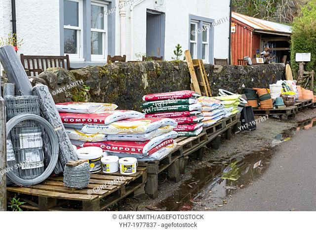 Rural Hardware Shop, Salen, Isle of Mull, Inner Hebrides, Scotland