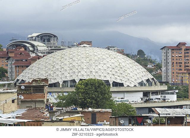 El Helicoide is a building in Caracas, Venezuela located in Roca Tarpeya between San Pedro Parish and San Agustín Parish