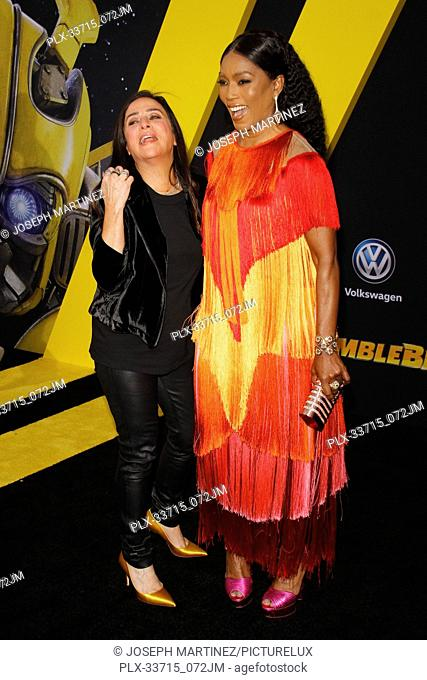 """Pamela Adlon, Angela Bassett at the Premiere of Paramount Pictures' """"""""Bumblebee"""""""" held at the TCL Chinese Theatre in Hollywood, CA, December 9, 2018"""