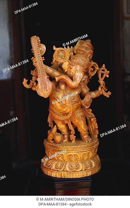 Handicrafts Mysore Karnataka India Stock Photos And Images Age