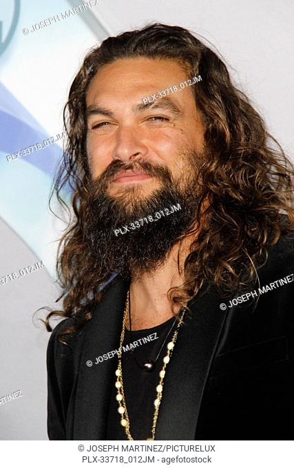"""Jason Momoa at the Premiere of Warner Bros' """"""""Aquaman"""""""" held at the TCL Chinese Theatre in Hollywood, CA, December 12, 2018"""