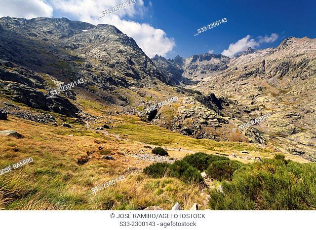 Gredos gorge. Avila. Castilla Leon. Spain. Europe