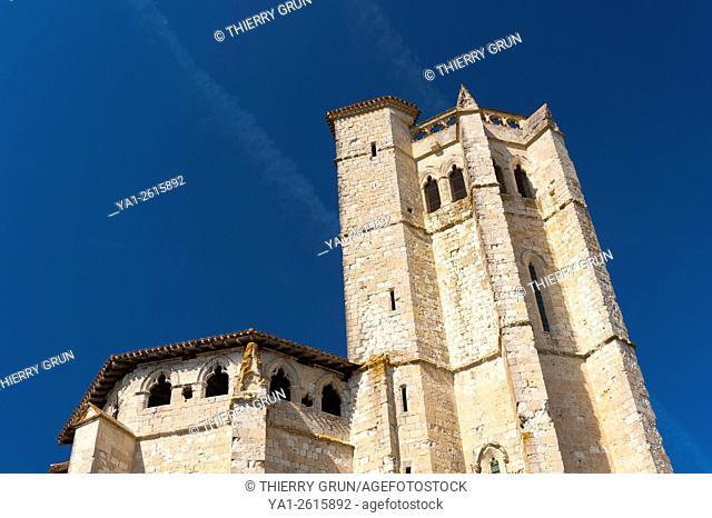 France, Gers (32), village of La Romieu on the way of Saint Jacques de Compostelle, collegiate Saint-Pierre