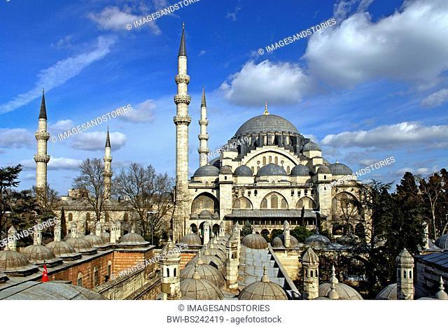 Suleymaniye Mosque, Turkey, Istanbul