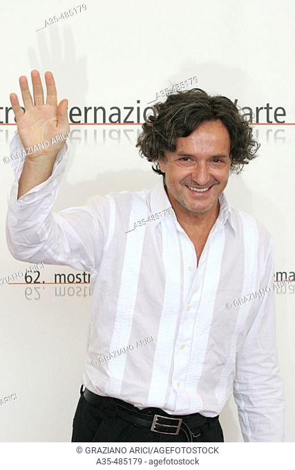 62nd Venice Film 'Festival (06/09/05): Film 'I Giorni dell'abbandono - actor Goran Bregovich