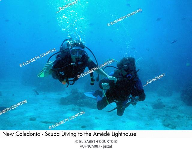 New Caledonia - Scuba Diving to the Ame de Lighthouse