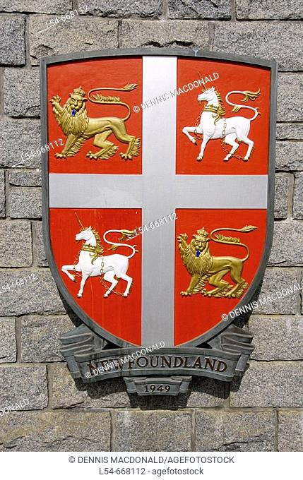 Canada coat of arms Stock Photos and Images | age fotostock