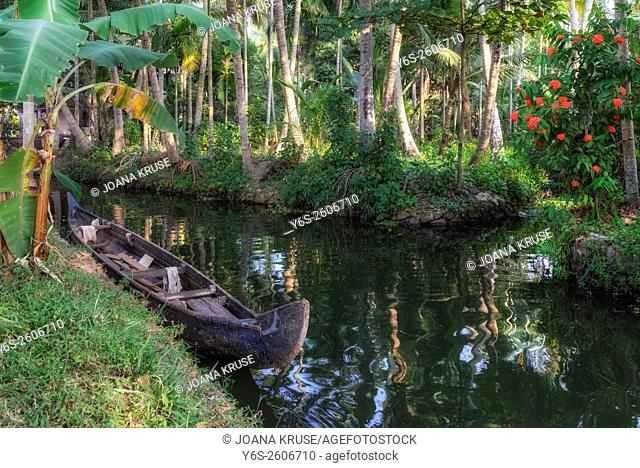 Alappuzha, Backwaters, Kerala, South India, Asia