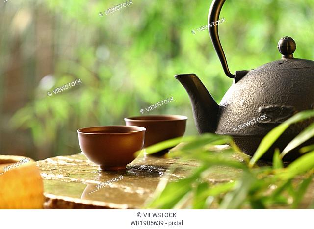 Classical tea sets